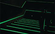 nez de marche fluorescent