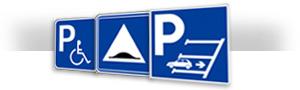 panneau de parking