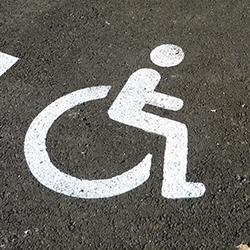 Marquage handicapé