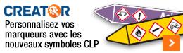 Seton Creator - Marqueurs de tuyauteries CLP