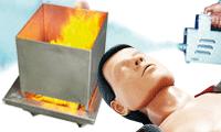 Oefenmateriaal voor brand en evacuatie