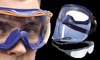 Gelaats- en oogbescherming