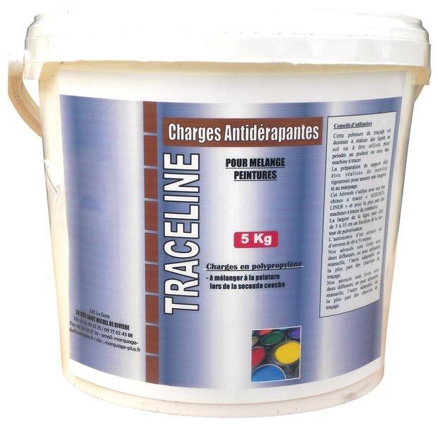 Transparant antislipproduct om te mengen met uw verf