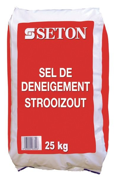 Strooizout in zak 25 kg