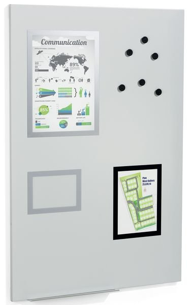Magnetisch whiteboard met accessoires   Seton België