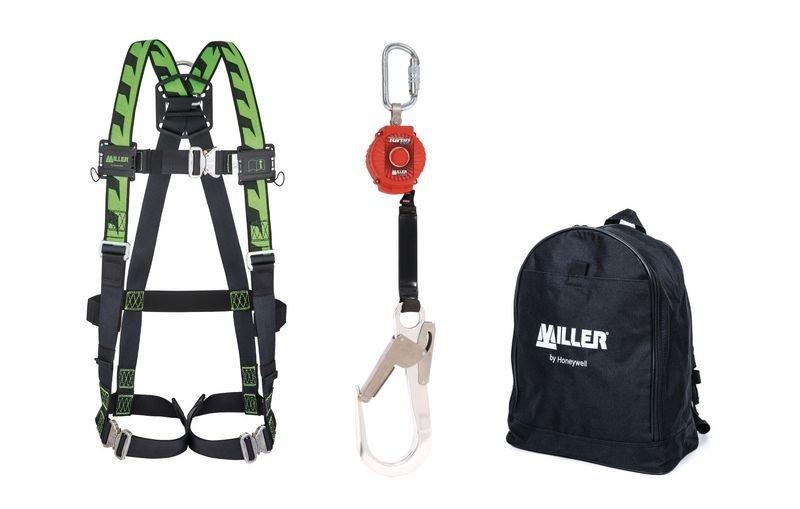 Universele valbeveiligingsset Miller® met eenpuntsharnas H-Design®
