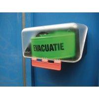 Opbergdoos met veiligheidsarmbanden voor muurbevestiging