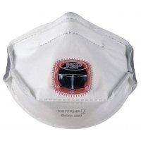 FFP3-stofmasker JSP® Typhoon™, vouwbaar en met klep