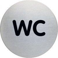 Ronde informatieborden - WC