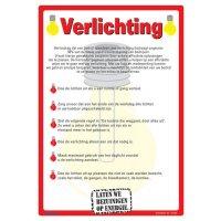 Posters voor milieubescherming - Verlichting