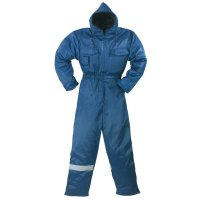 Overall ter bescherming tegen kou en regen