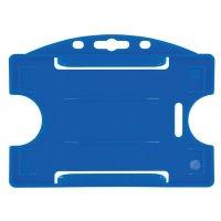 Harde badgehouder van gekleurd polypropyleen, voor ISO-kaarten