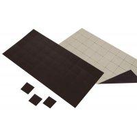 Dunne vierkante magneten met zelfklevende zijde