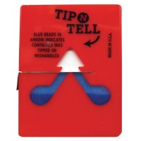 Valindicator 'Tip n tell' voor pakketten