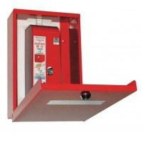 Rood kastje voor brandventilatie-systeem