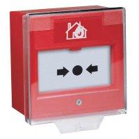 Beschermkap om vast te klikken op handbrandmelders