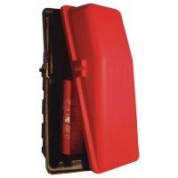 Tweedelige brandblusserkoffer van 6 kg voor binnen en buiten