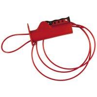 Vergrendelingssysteem met kabel voor lockout ventielen, stroomonderbrekers, ...