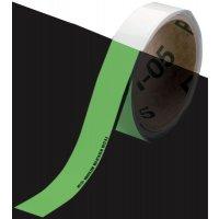 Fotoluminescente vloertape op rol voor vloer en trap