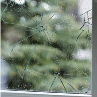 Veiligheidsfolie voor vensters tegen glasscherven