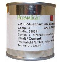 Fotoluminescente epoxyverf voor vloermarkering