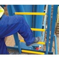 Antislipbeveiliging voor laddersporten