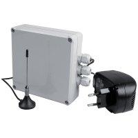 Beveiligingssysteem voor nooduitgang, met kabel of via RF