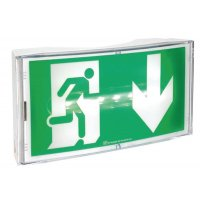 "Autonome noodverlichting met pictogram ""nooduitgang"""