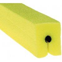 Stootrand in U-profiel van polyethyleenschuim
