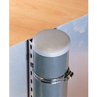 Slangklem van aluminium voor paal montage