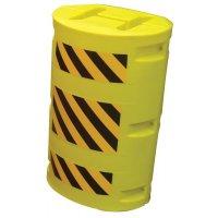 Kolombescherming van polyethyleen voor palen met IPE-profiel