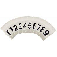 "Kabeletiketten ""Clip sleeve"" met letters of cijfers"