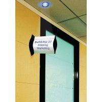 Bolle deurborden van aluminium, ook om op te hangen