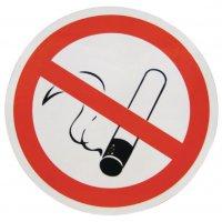 """Dubbelzijdige raamstickers verbod """"Verboden te roken"""""""