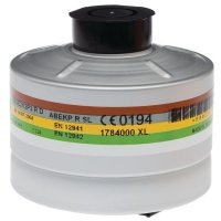 Standaardfilters voor ademhalingsmaskers