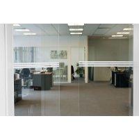 Raamstickers en stickers voor glazen deuren - groene strepen