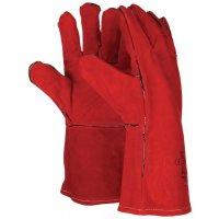 Warmtebestendige, leren handschoenen Polyco®