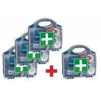 Lot 3 EHBO-koffers voor industrie en 1 gratis