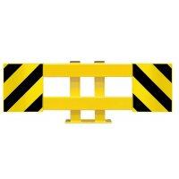 Verplaatsbare lage barrière voor legbordstelling