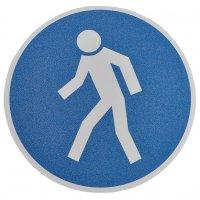 """Antislipstickers voor vloer """"Verplichte doorgang voor voetgangers"""""""