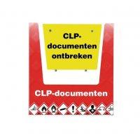Houder CLP-documenten met tekst