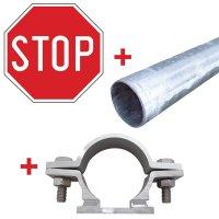 """Verkeersborden """"Stop"""""""
