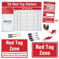 Volledige kit voor red tag zone