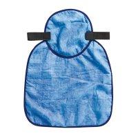 Verkoelende, blauwe nekbeschermer voor veiligheidshelmen