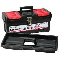 Harde toolbox voor lockout (leeg)