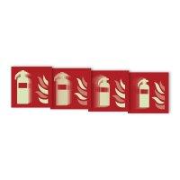 "Harde stickers met animatie SETON MOTION® ""Brandblusapparaat"""