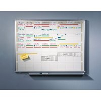 Planbord voor activiteiten in groot formaat