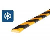 Dunne, schokbestendige muurbescherming van schuim Optichoc voor koude omgevingen - oppervlak van 40 mm