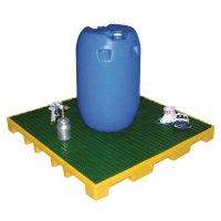 Opvangplatformen van polyethyleen