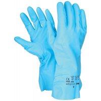 Blauwe chemisch bestendige handschoenen Polyco® Pura™